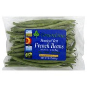 greenline beans french haricot vert calories nutrition analysis more fooducate. Black Bedroom Furniture Sets. Home Design Ideas