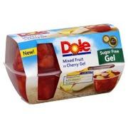 Dole Mixed Fruit, in Cherry Gel, Sugar