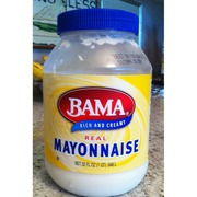 Bama Mayonnaise, Real: Calories, Nutrition Analysis & More | Fooducate