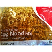 Safeway Egg Noodles, Enriched, Wide: Calories, Nutrition Analysis ...