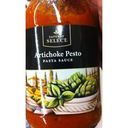 Safeway Select Pasta Sauce Artichoke Pesto Calories Nutrition Analysis More Fooducate