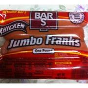 Bar S Hot Dog Carbs