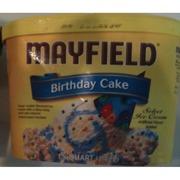 Astounding Mayfield Ice Cream Select Birthday Cake Calories Nutrition Funny Birthday Cards Online Alyptdamsfinfo