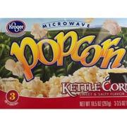 Kroger Microwave Popcorn Kettle Corn