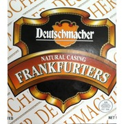 Deutschmacher Brand Frankfurters, Natural Casing: Calories, Nutrition Analysis & More | Fooducate