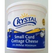 Marvelous Crystal Cottage Cheese Small Curd 4 Milkfat Min Download Free Architecture Designs Rallybritishbridgeorg
