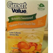 Drink mixes made with stevia
