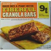 Trader Joe's Fiberful Granola Bars, Rolled Oats & Peanut Butter: Calories, Nutrition Analysis ...