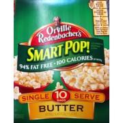 Microwave Popcorn, Butter, Smart Pop