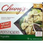 Whole Foods Vegetable Potstickers Calories