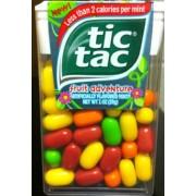 tic tac mints fruit adventure calories nutrition analysis more