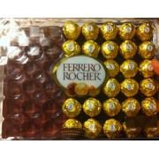 Ferrero Rocher Chocolate Hazelnut Chocolates: Calories, Nutrition ...