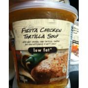 Signature Cafe Fiesta Chicken Tortilla Soup. nutrition grade C