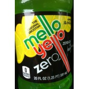 Mello Yello Soda, Citrus, Zero: Calories, Nutrition Analysis & More | Fooducate