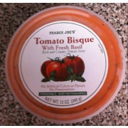 Trader Joe's Bisque, Tomato with Fresh Basil: Calories, Nutrition Analysis & More | Fooducate