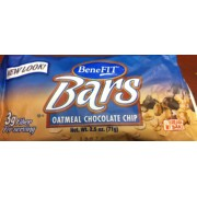 BeneFIT Bars, Oatmeal Chocolate Chip: Calories, Nutrition Analysis ...