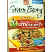 The Silver Palate, Grain Berry Cereal, Toasted Oat, Honey Nut: Calories, Nutrition Analysis ...