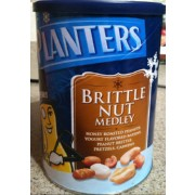 Planters Brittle Nut Medley: Calories, Nutrition ysis & More ... on planters munch bar, planters holiday 3-pack, planters almond chocolate crunch, planters tailgate mix, planters pumpkin spice almonds, planters holiday mix, planters almonds seasonal winter, planters nuts gift pack, planters winter spiced nuts, planters pumpkin spiced almonds 22 5-ounce, planters spiced mix, planters nuts creme,