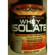Body Fortress Whey Isolate, Vanilla Creme