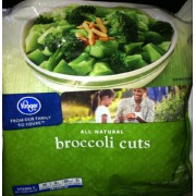 Kroger Broccoli Cuts: Calories, Nutrition Analysis & More | Fooducate