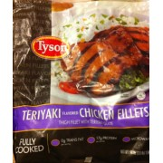 Tyson Chicken Fillets Thighs With Teriyaki Flavor Calories Nutrition Analysis Amp More Fooducate