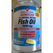 Member 39 s mark fish oil 1400 mg enteric calories for Fish oil 1400 mg