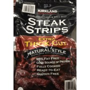 kirkland signature steak strips extra thick cut dried beef
