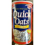 Ralston Foods Oatmeal, Quick Oats: Calories, Nutrition Analysis & More | Fooducate