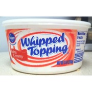 Kroger Whipped Topping, Extra Creamy: Calories, Nutrition ... Kroger Whipping Cream