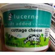 lucerne cottage cheese no salt added calories nutrition analysis rh fooducate com where to buy no salt cottage cheese no salt cottage cheese brands
