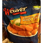 Weaver Wing Flats, Buffalo Style: Calories, Nutrition Analysis & More | Fooducate