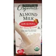 Central Market HEB Organics Almond Milk, Original ...