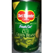 Del Monte Fresh Cut Green Beans, Canned