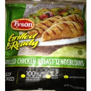 Tyson Grilled Ready Chicken Breast Tenderloins Grilled