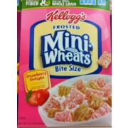 Frosted Mini-Wheats Strawberry Delight