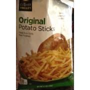 Clover Valley Potato Sticks, Original: Calories, Nutrition ...