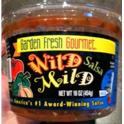 Garden Fresh Gourmet Salsa, Wild Mild is graded by Fooducate