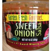 garden fresh gourmet salsa sweet onion mild - Garden Fresh Gourmet