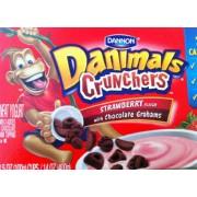 Dannon Danimals Yogurt Cruncher Strawberry With Chocolate Grahams