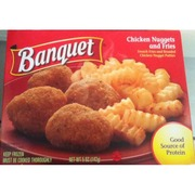 Banquet Chicken Nuggets and Fries. nutrition ...
