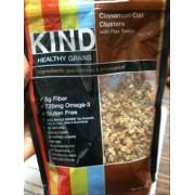 Kind cinnamon oat clusters