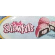 Pink Snowballs Snack Cakes, Chocolate with Creme Filling: Calories ...