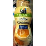 365 Everyday Value Creamer Vanilla Organic Calories