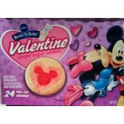 photo of pillsbury sugar cookies valentine shape seasonal