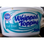 Kroger Whipped Topping, Fat Free: Calories, Nutrition ... Kroger Whipping Cream
