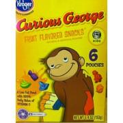 Kroger Fruit Snacks, Curious George, Assorted Fruit ...