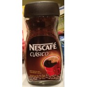 Nescafe Clasico Instant Coffee. nutrition ...