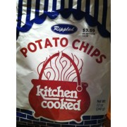 Kitchen Cooked Potato Chips, Rippled: Calories, Nutrition Analysis ...