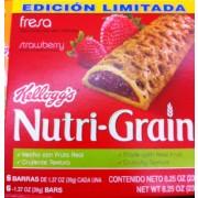 2 Boxes Kelloggs Nutri-Grain Bars Variety Pack (1.3 oz