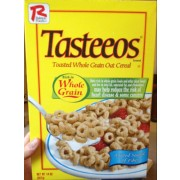 Tasteeos Toasted Whole Grain Oat Cereal: Calories, Nutrition Analysis ...